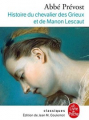 Couverture du livre Manon Lescaut
