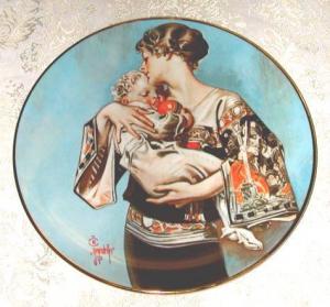 Hommage à la mère