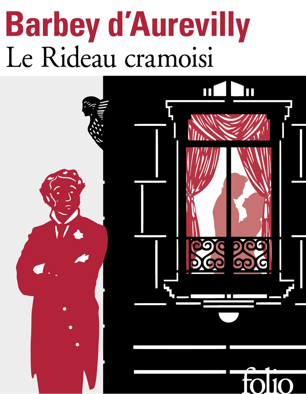 Couverture de Le rideau cramoisi