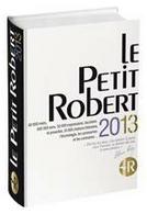 Les mots nouveaux du Petit Robert 2013