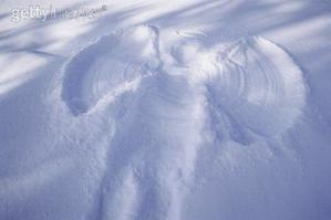 La neige blanche